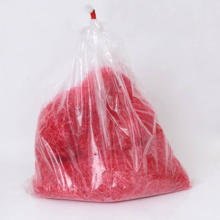 Paglietta Polipropilene Rossa