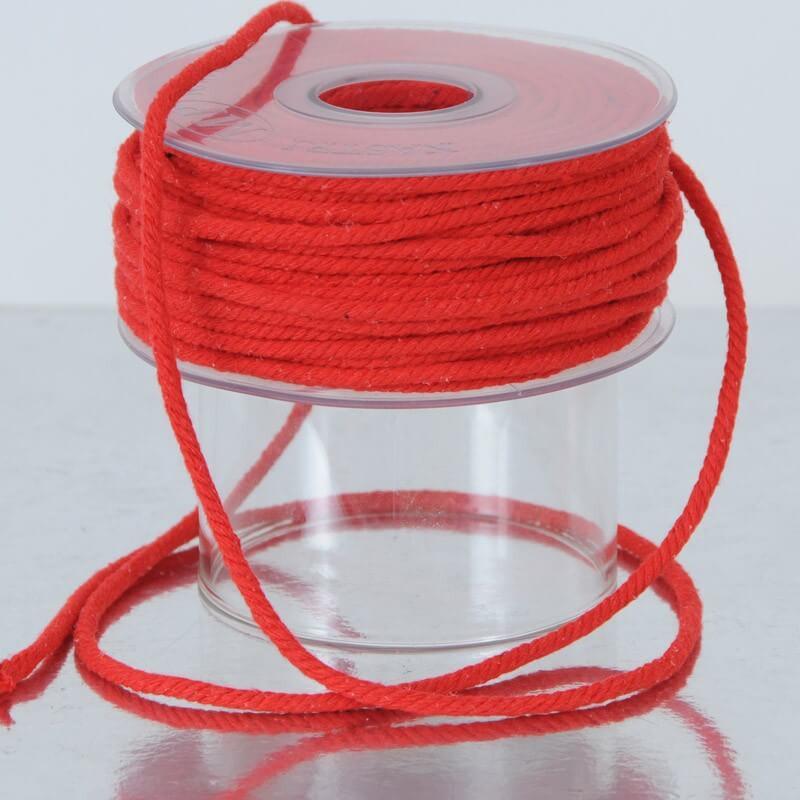 Cordino Cotone Rosso