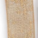 Nastri in tessuto morbido trapuntato con oro e argento SPENCER