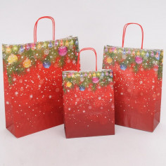 Shopper Carta Natale Decoration