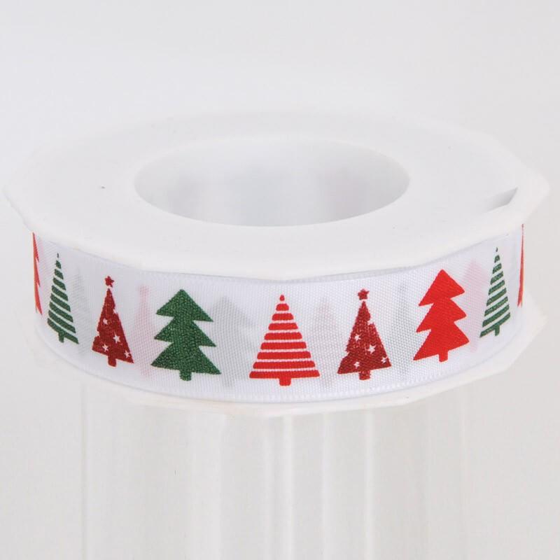 Nastro Tessuto Alberelli Natale