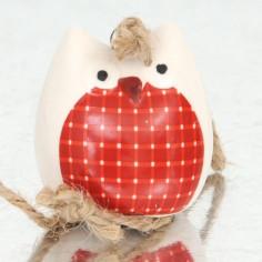 Gufetto Ceramica con cordino