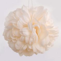 Pon-Pon di petali avorio