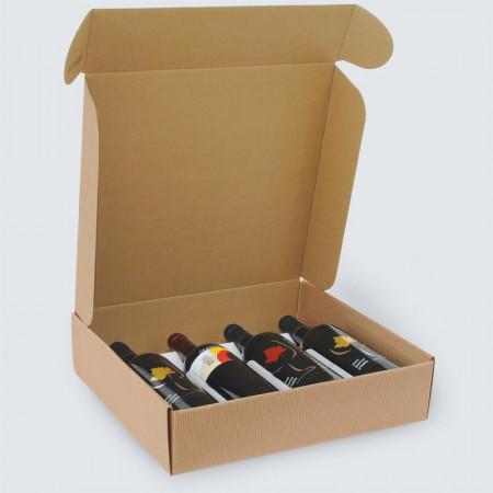 Scatole per Vino Modello Cantinetta 2,3,4 Bottiglie