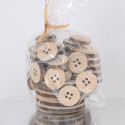 Bottoni di legno