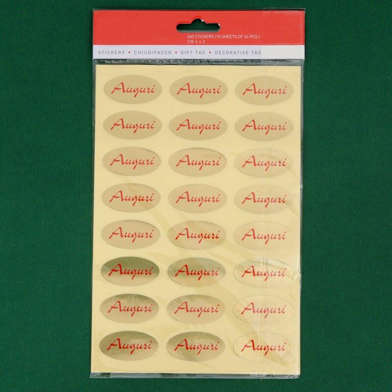 Etichette: Auguri oro rosso