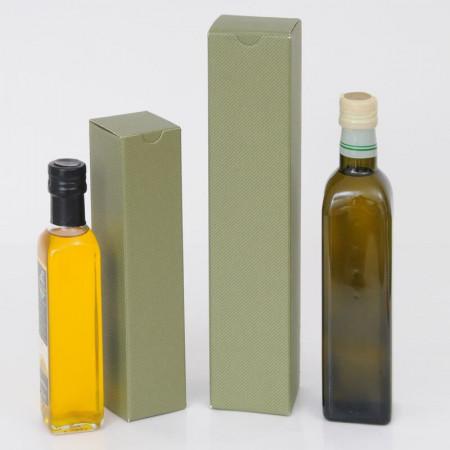 Scatole Olio da 1 bottiglia linea verde