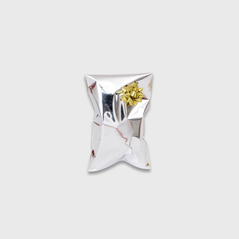 Buste Regalo metalizzate patella adesiva