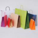 Shopper Bicolor Maniglia Ritorta