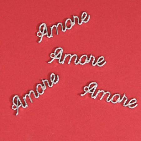 Scritta Amore in Metallo