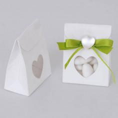 Bomboniera: scatolina con finestra cuore