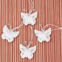 Pendenti: cuori e farfalle sonaglino metallo verniciato