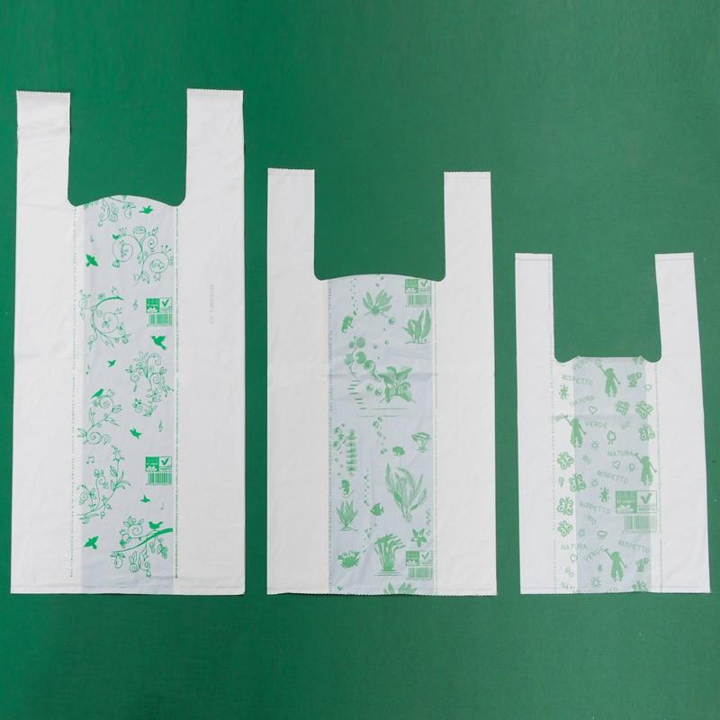 Sacchetti biodegradabili e compostabili a norma UNI EN 13432:2002