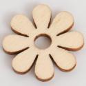 Margherite in legno