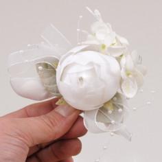 Bouquet Zelia con racchette portaconfetti