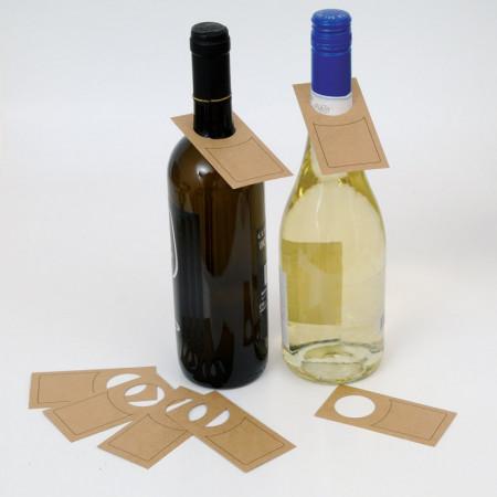 Etichetta in cartoncino collo bottiglia