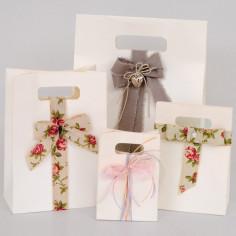 Shopper Box Metallassè Bianco