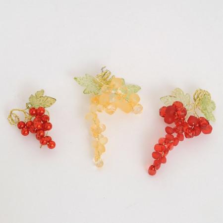 Grappoli d'uva cristal o perla