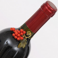 Grappoli d'uva perlata rossa