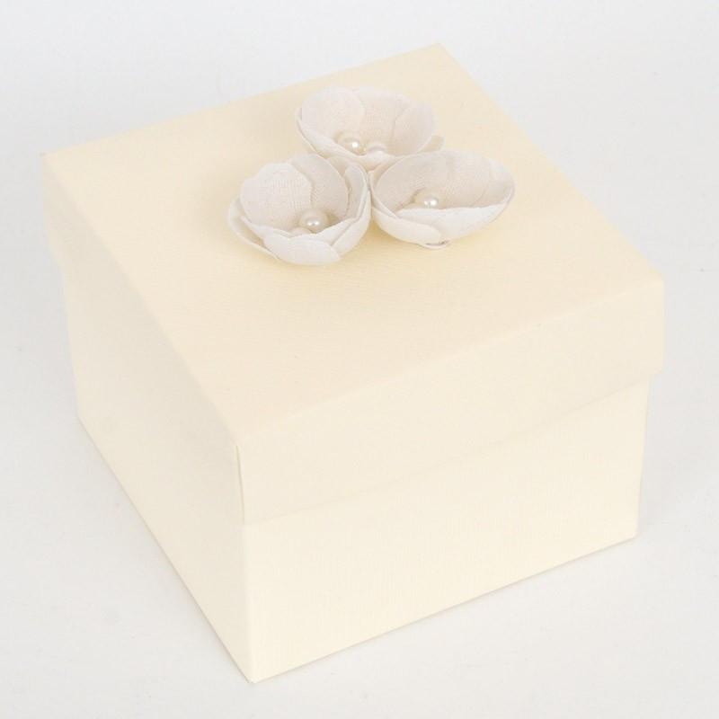 Boccioli di stoffa bianco p