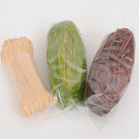 ECO RAFIA NATURALE in Matassine da 50 grammi ca.