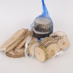 Fette di legno Noce