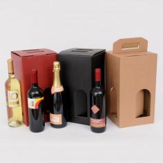 Scatole per vino 4 bottiglie Cubotto