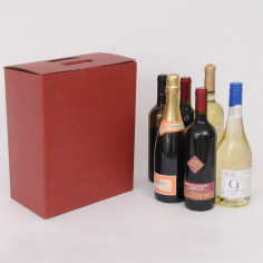 Scatole per vino 6 bottiglie Cubotto