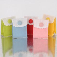 Buste Stoffa Bicolor con bottone in velcro