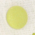 Buste Stoffa Bicolor con bottone verdi