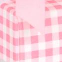 Bicchierino trasparente con coperchio cartoncino porta confetti rosa