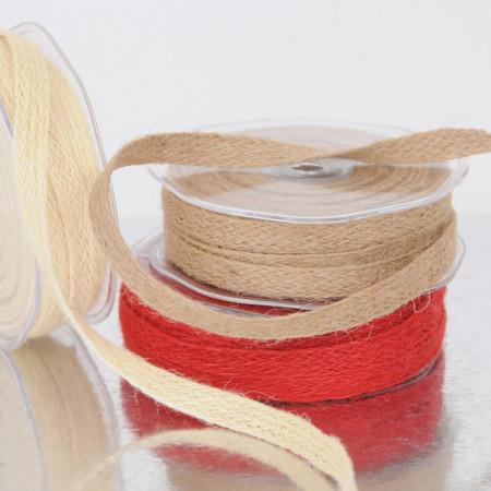 Fettucce misto lino Folk Ribbon
