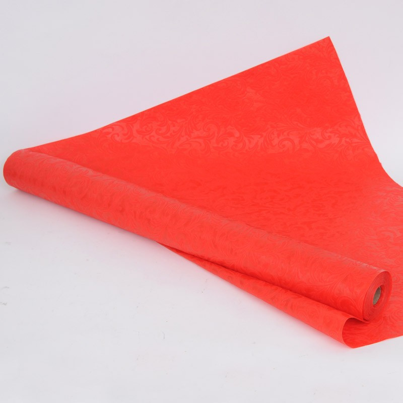 Rotoli tnt Fantasia in rilievo rosso