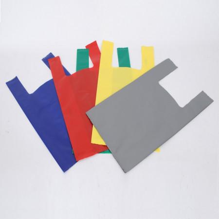 Shopper in Plastica 100my con Bretella Mix Colori