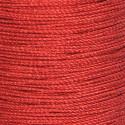 Cordini metallizzati rosso