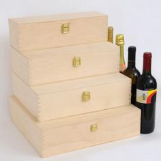 Cassette per vini in betulla