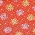 Fogli Smerlati Metal Natale rosso