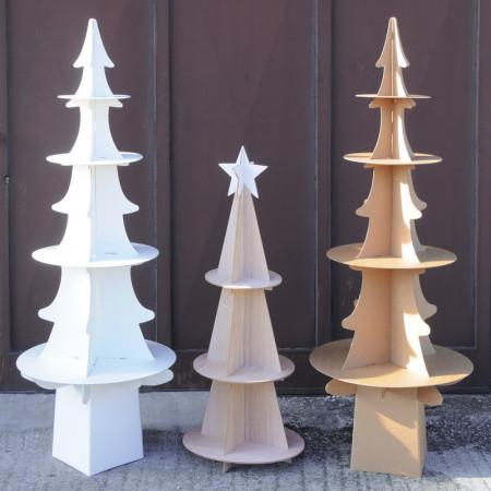 Alberi di Natale Espositore in Cartone o Legno