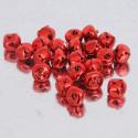 Sonagli rossi metallizzati