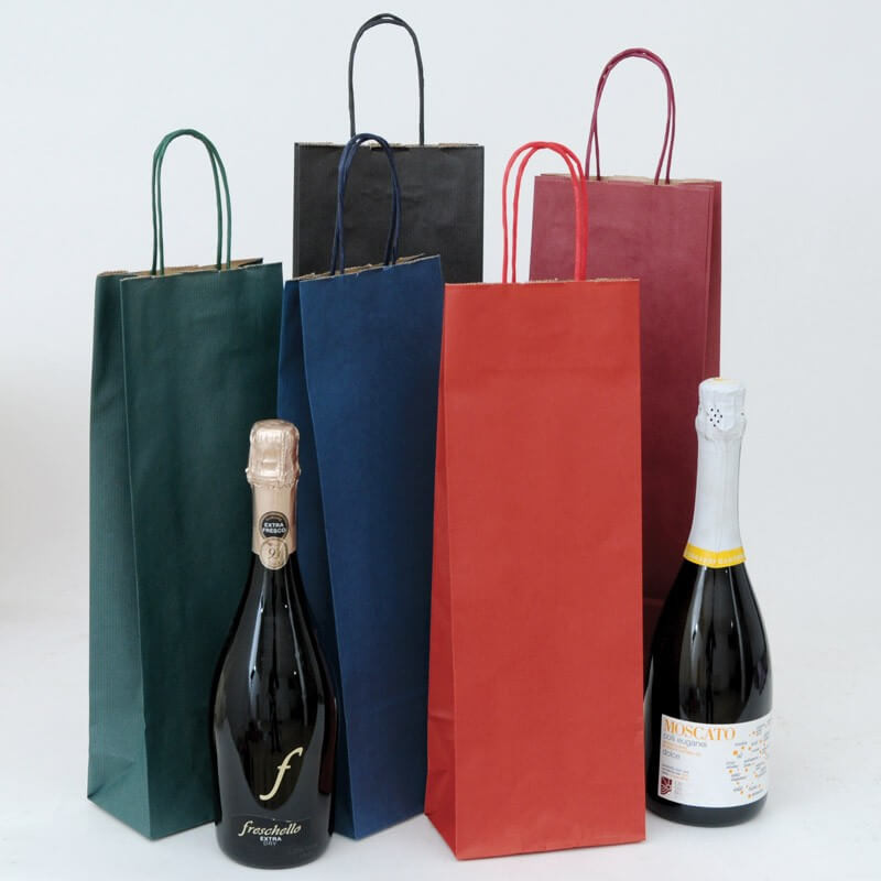 Sacchetto Carta Sealing Colorata per Vini in bottiglia