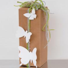 Farfalle Decorative con Antenne in Metallo, sono ADESIVE