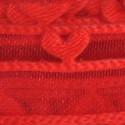 Nastri regalo organza doppi cuori rosso