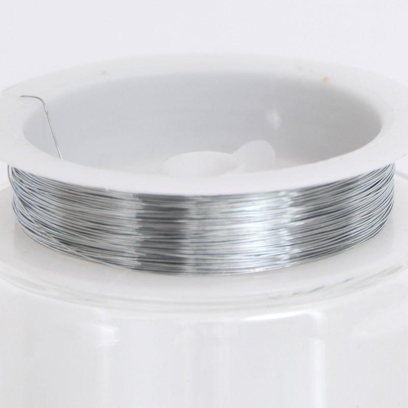 Filo metallico argento