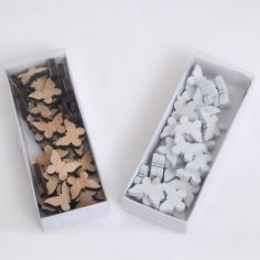 Farfalle in legno