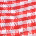 Nastri Raso Quadretti Vichy rosso