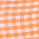 Nastri Raso Quadretti Vichy arancio