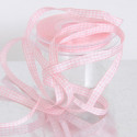 Nastri Raso Quadretti Vichy rosa