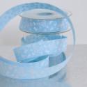 Nastri Tessuto Batterfly azzurro