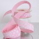 Nastri Tessuto Batterfly rosa