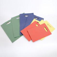 Sacchetti Carta Avana Maniglia fagiolo Colorati